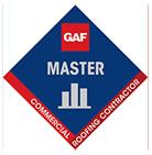 GAF Master Certified logo